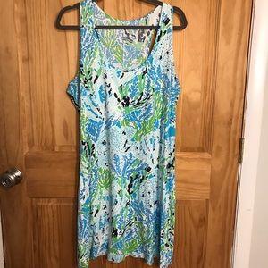Lilly Pulitzer XL Let's Cha Cha Cordon Dress